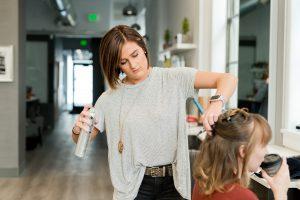 Modelowanie włosów długich