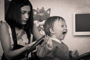 Strzyżenie dziecka